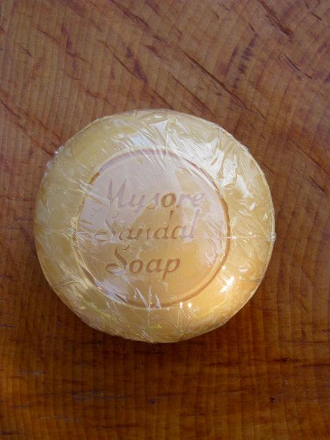 Mýdlo santalové kulaté 150g