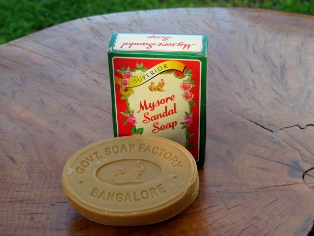 Mýdlo santalové 75g