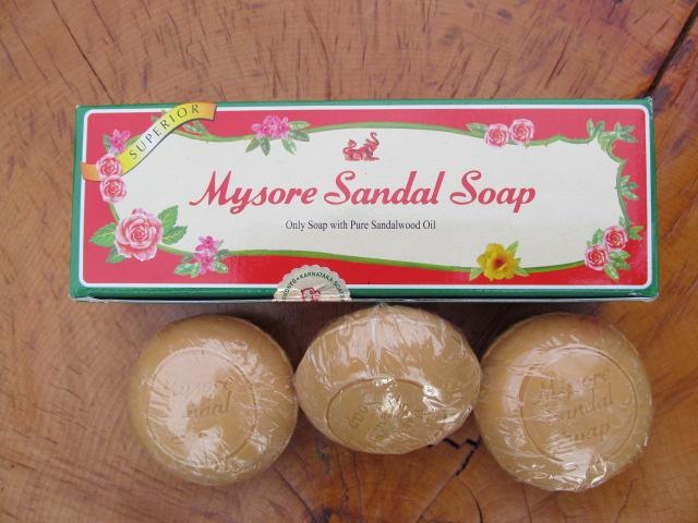 Mýdlo santalové kulaté 3ks