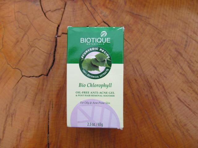 Pleťový antibakreiální gel - BIO CHLOROPHYLL 65g